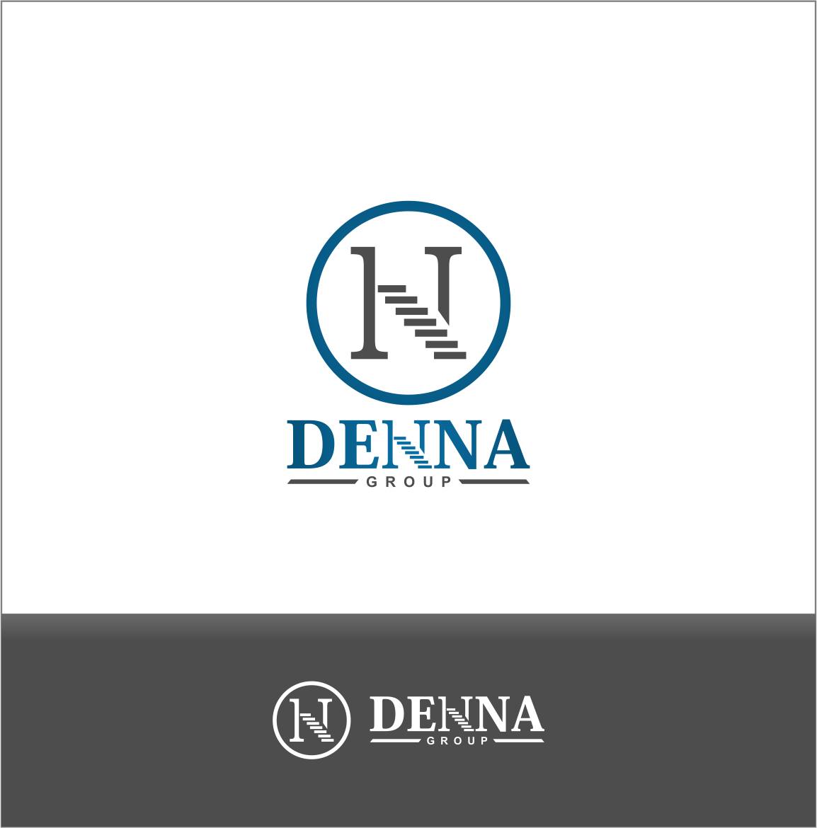 Logo Design by Private User - Entry No. 319 in the Logo Design Contest Denna Group Logo Design.