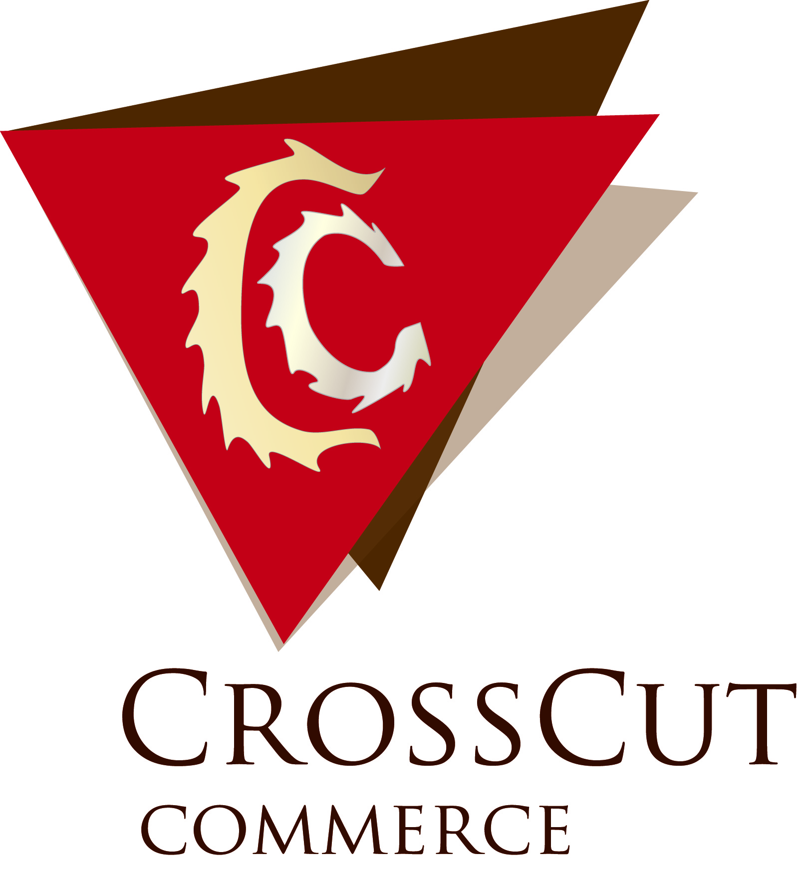 Logo Design by Vivek Singh - Entry No. 66 in the Logo Design Contest New Logo Design for CrossCut Commerce.