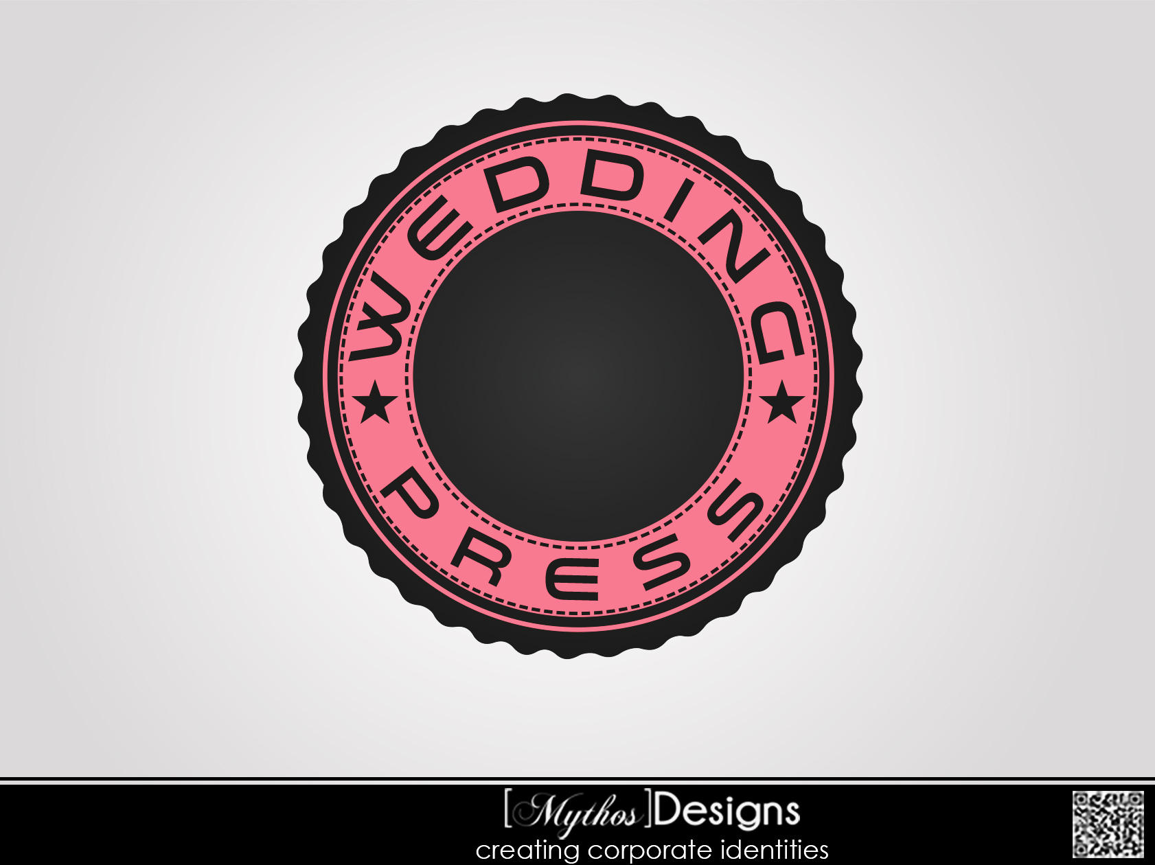 Logo Design by Mythos Designs - Entry No. 17 in the Logo Design Contest Wedding Writes Logo Design.