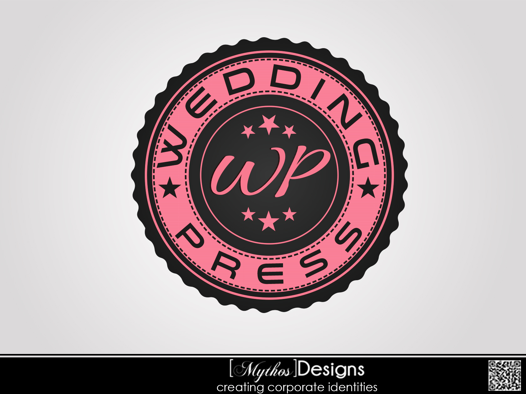 Logo Design by Mythos Designs - Entry No. 20 in the Logo Design Contest Wedding Writes Logo Design.