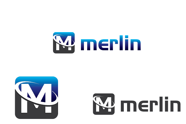 Logo Design by Private User - Entry No. 60 in the Logo Design Contest Imaginative Logo Design for Merlin.