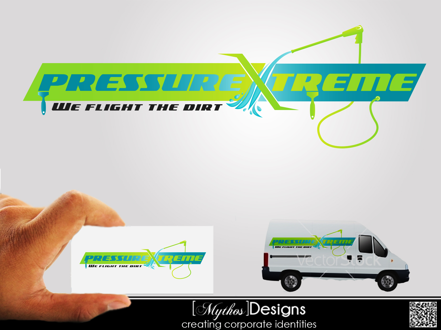 Logo Design by Mythos Designs - Entry No. 73 in the Logo Design Contest New Logo Design for PRESSUREXTREME.