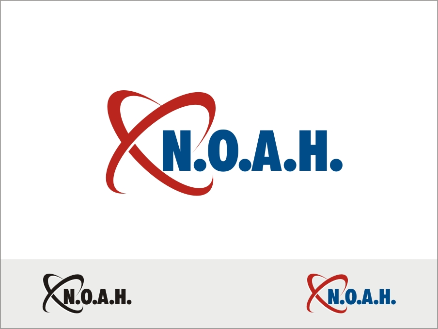 Logo Design by RED HORSE design studio - Entry No. 64 in the Logo Design Contest Fun Logo Design for N.O.A.H..