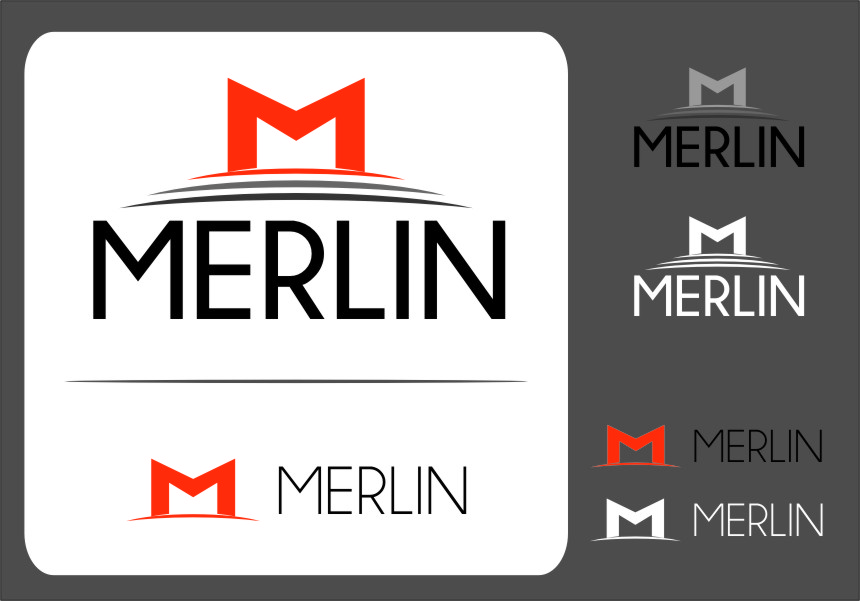 Logo Design by RasYa Muhammad Athaya - Entry No. 73 in the Logo Design Contest Imaginative Logo Design for Merlin.