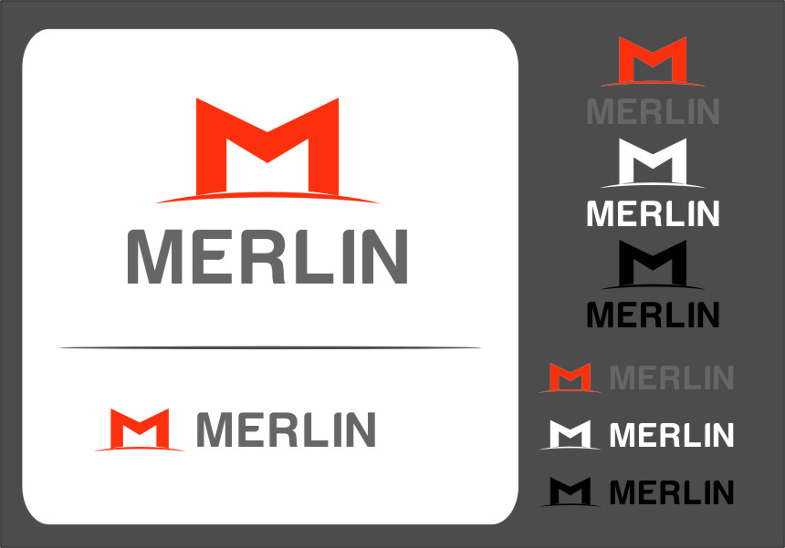 Logo Design by RasYa Muhammad Athaya - Entry No. 75 in the Logo Design Contest Imaginative Logo Design for Merlin.