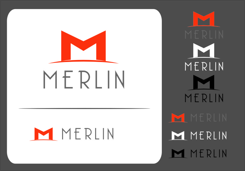 Logo Design by Ngepet_art - Entry No. 77 in the Logo Design Contest Imaginative Logo Design for Merlin.