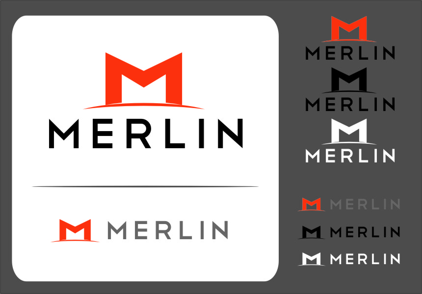 Logo Design by RoSyid Rono-Rene On Java - Entry No. 81 in the Logo Design Contest Imaginative Logo Design for Merlin.