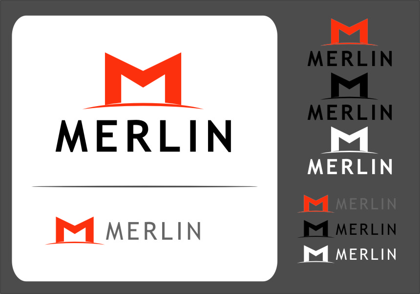 Logo Design by RasYa Muhammad Athaya - Entry No. 82 in the Logo Design Contest Imaginative Logo Design for Merlin.