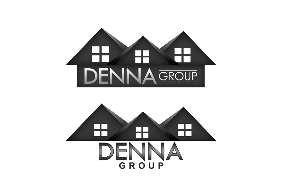 Logo Design by Private User - Entry No. 330 in the Logo Design Contest Denna Group Logo Design.