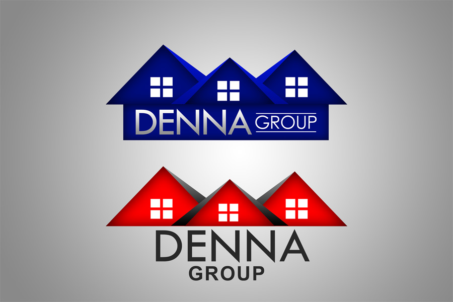 Logo Design by Private User - Entry No. 331 in the Logo Design Contest Denna Group Logo Design.