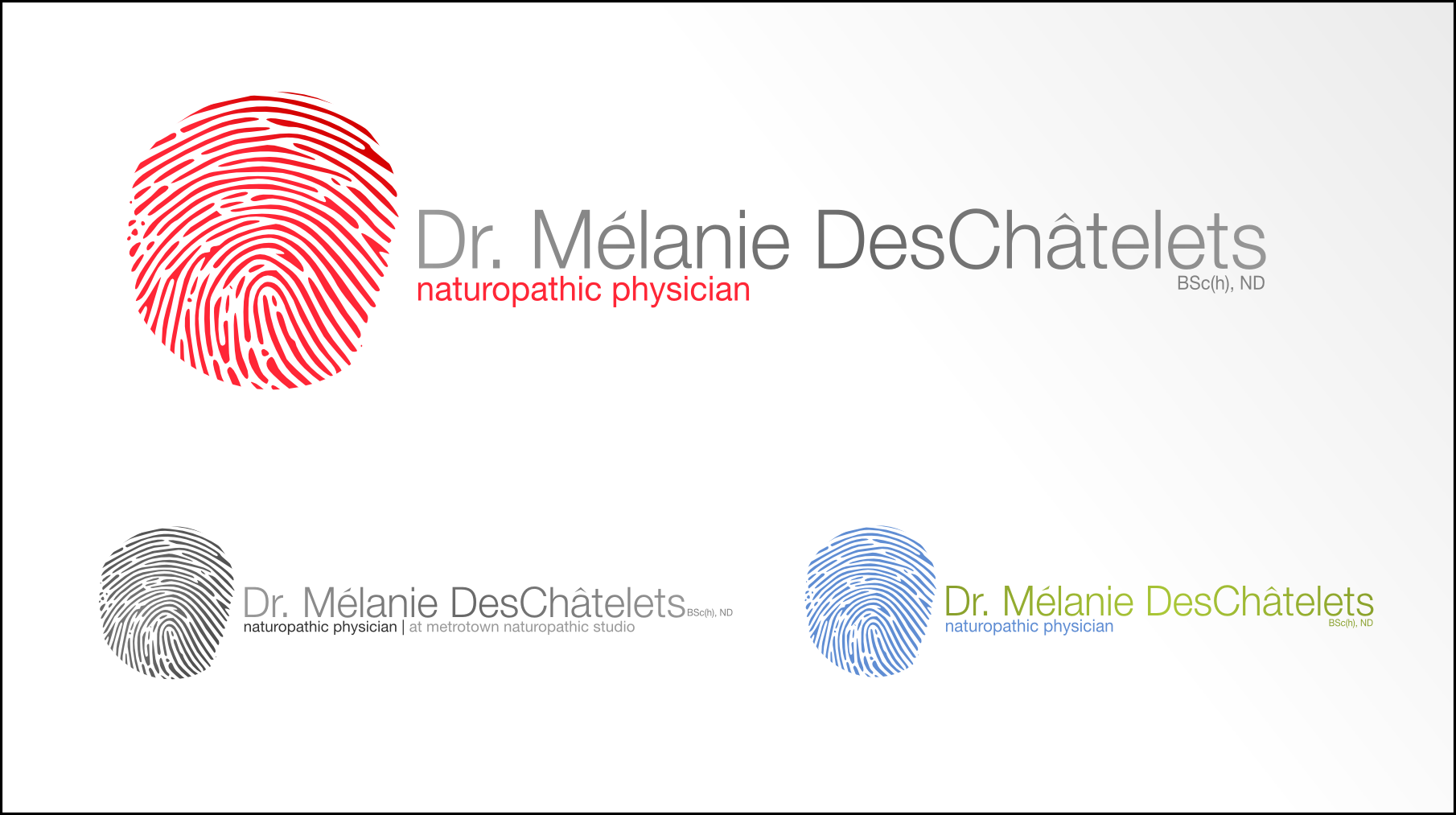Logo Design by Andrew Bertram - Entry No. 4 in the Logo Design Contest Artistic Logo Design for Dr Mélanie DesChâtelets.