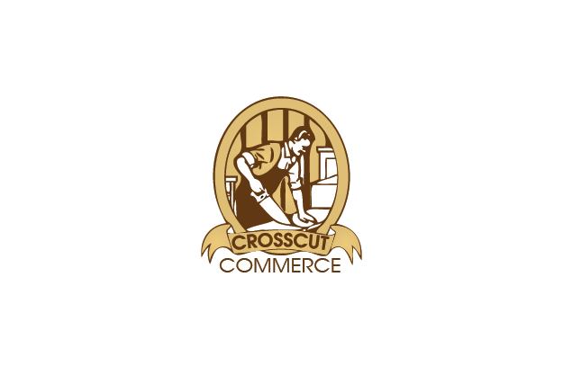 Logo Design by Digital Designs - Entry No. 69 in the Logo Design Contest New Logo Design for CrossCut Commerce.