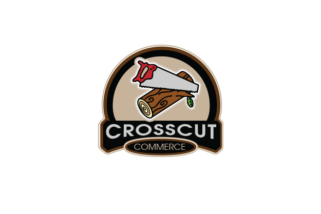 Logo Design by Digital Designs - Entry No. 70 in the Logo Design Contest New Logo Design for CrossCut Commerce.