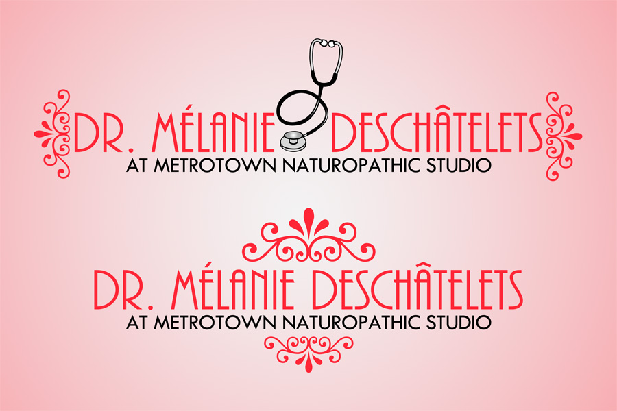 Logo Design by Private User - Entry No. 5 in the Logo Design Contest Artistic Logo Design for Dr Mélanie DesChâtelets.