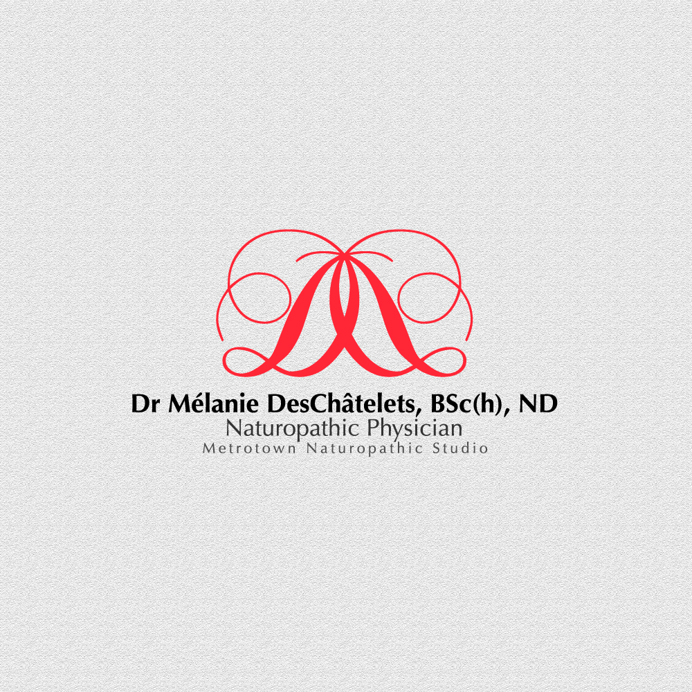 Logo Design by rockin - Entry No. 6 in the Logo Design Contest Artistic Logo Design for Dr Mélanie DesChâtelets.