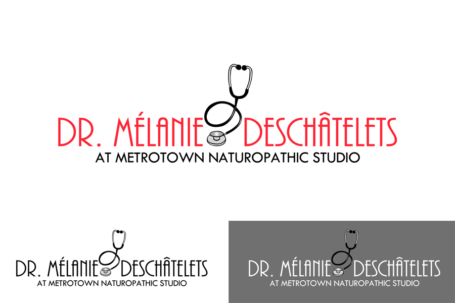 Logo Design by Private User - Entry No. 7 in the Logo Design Contest Artistic Logo Design for Dr Mélanie DesChâtelets.