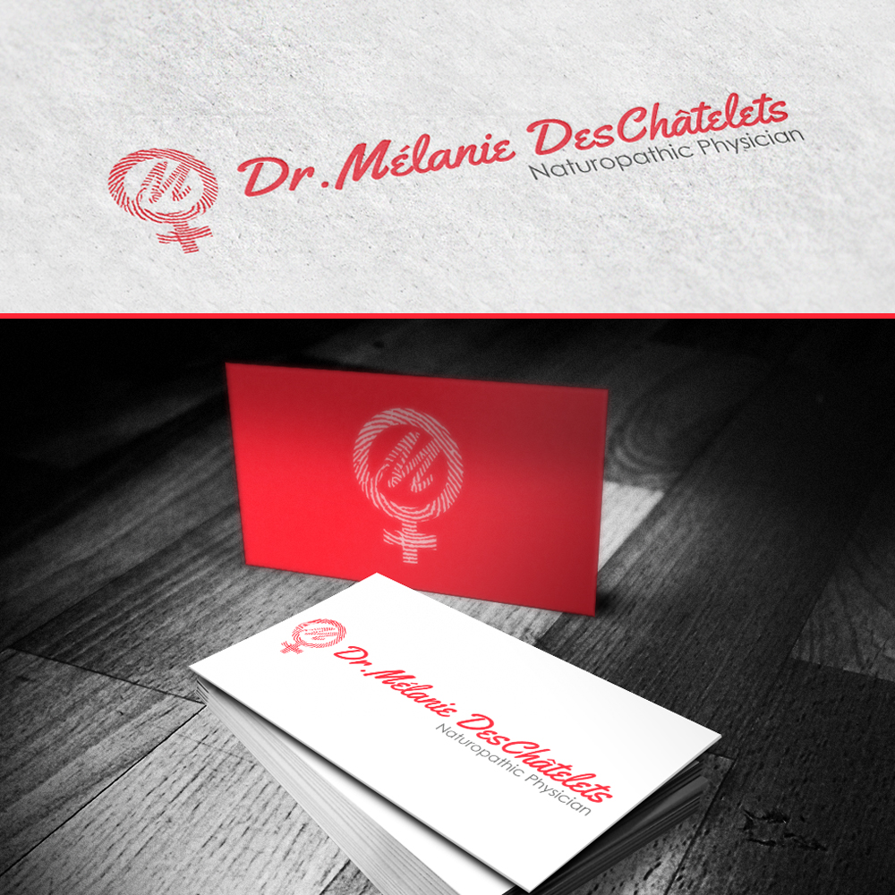 Logo Design by omARTist - Entry No. 8 in the Logo Design Contest Artistic Logo Design for Dr Mélanie DesChâtelets.