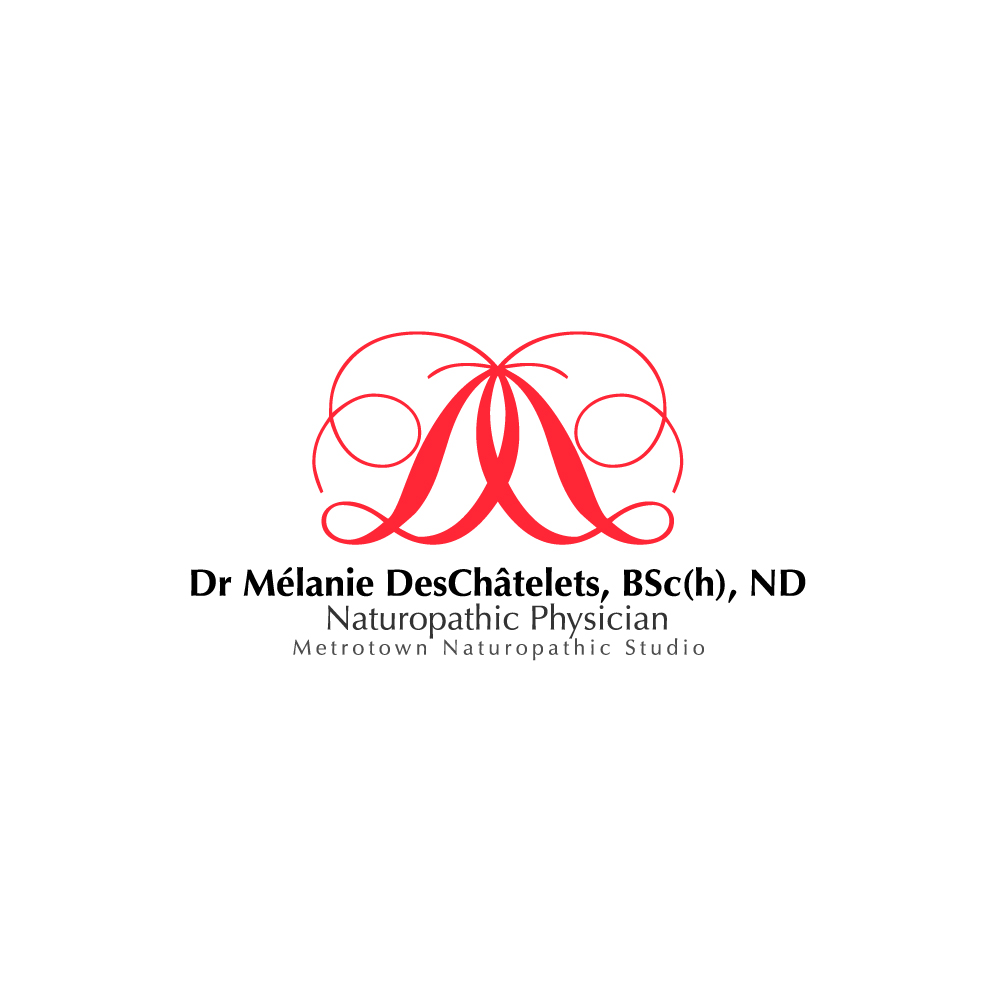Logo Design by rockin - Entry No. 10 in the Logo Design Contest Artistic Logo Design for Dr Mélanie DesChâtelets.