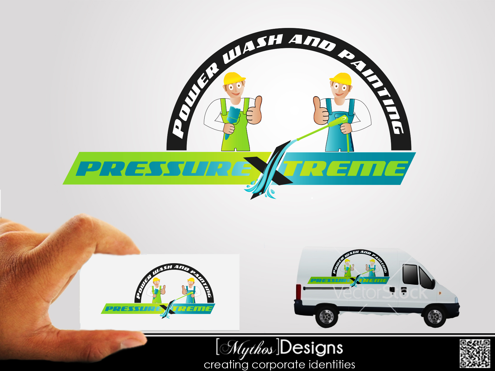 Logo Design by Mythos Designs - Entry No. 85 in the Logo Design Contest New Logo Design for PRESSUREXTREME.
