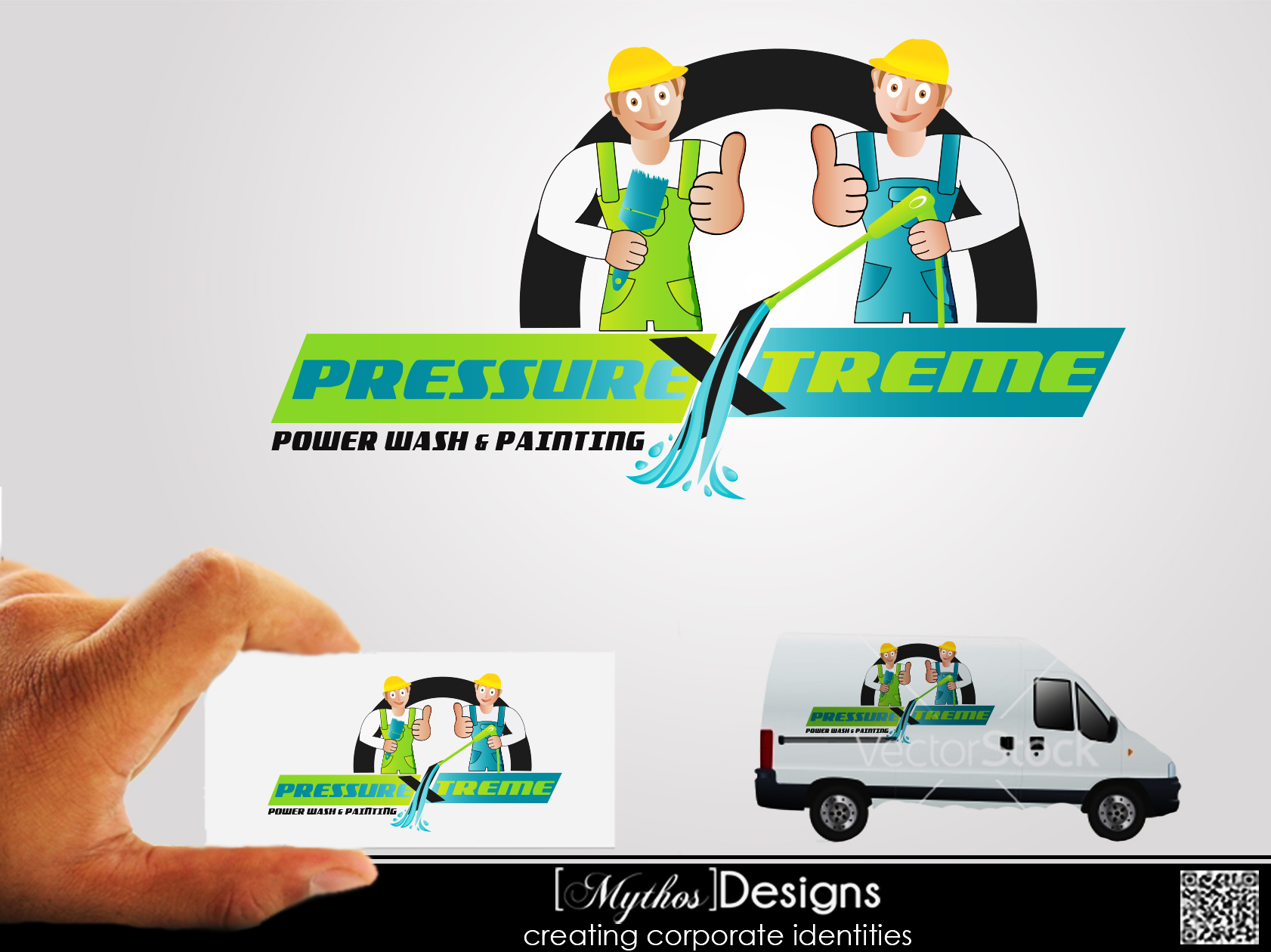 Logo Design by Mythos Designs - Entry No. 88 in the Logo Design Contest New Logo Design for PRESSUREXTREME.