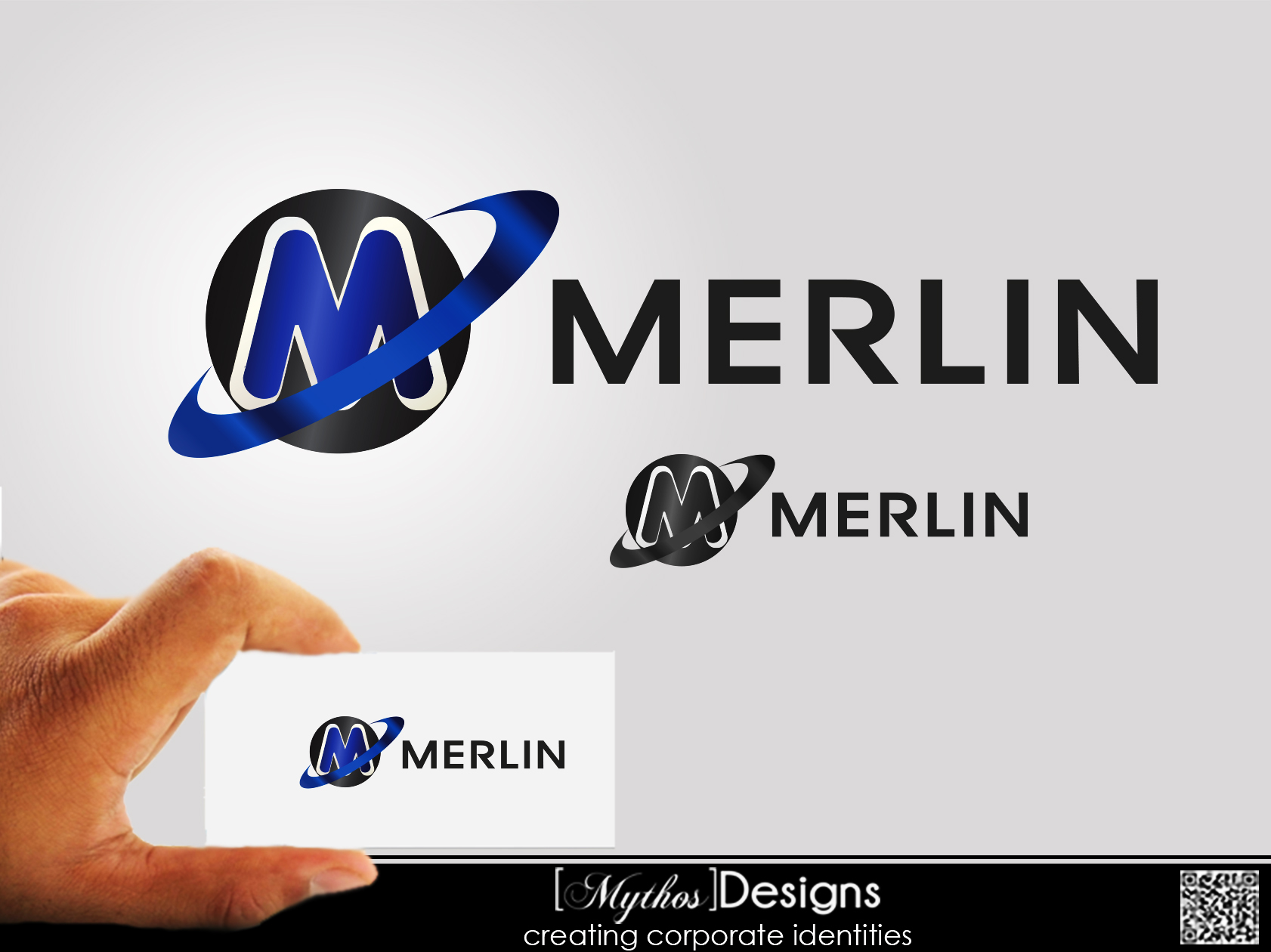 Logo Design by Mythos Designs - Entry No. 89 in the Logo Design Contest Imaginative Logo Design for Merlin.