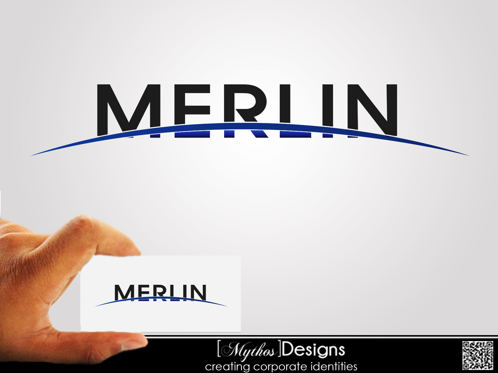 Logo Design by Mythos Designs - Entry No. 90 in the Logo Design Contest Imaginative Logo Design for Merlin.