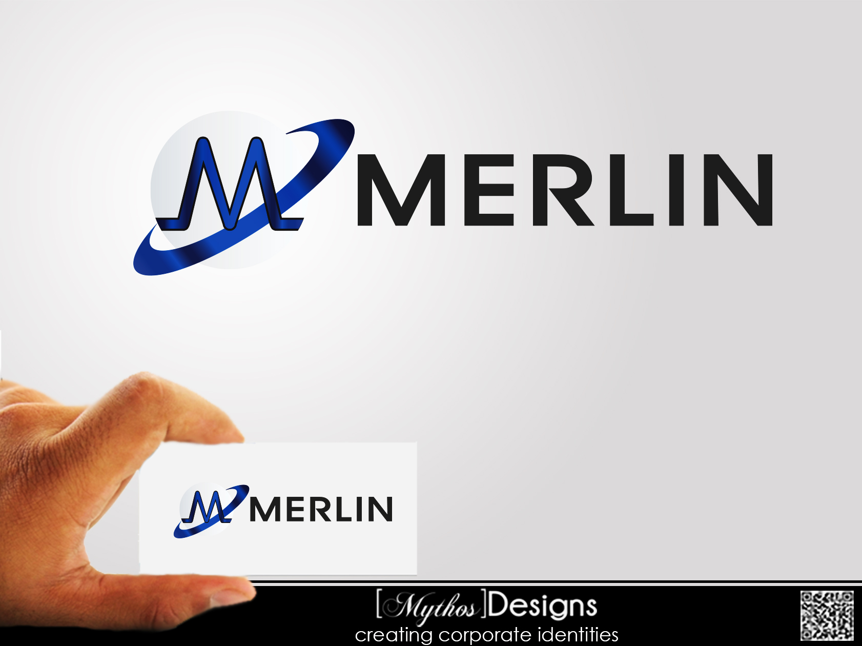 Logo Design by Mythos Designs - Entry No. 91 in the Logo Design Contest Imaginative Logo Design for Merlin.