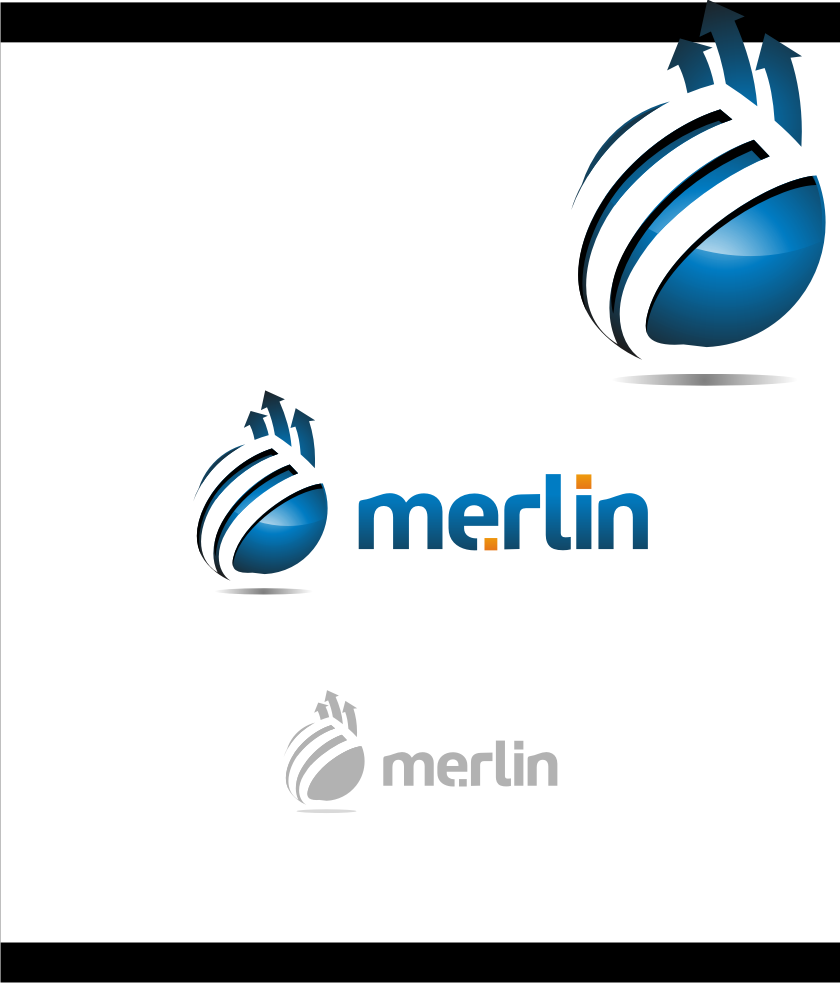 Logo Design by graphicleaf - Entry No. 92 in the Logo Design Contest Imaginative Logo Design for Merlin.