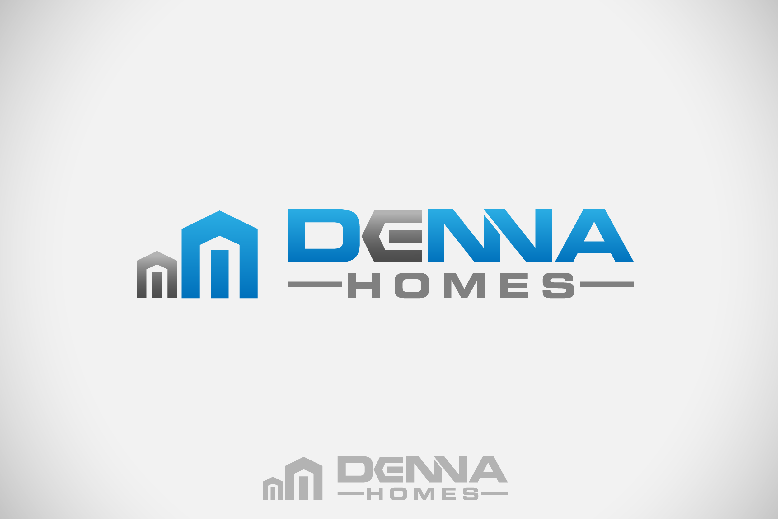 Logo Design by Private User - Entry No. 343 in the Logo Design Contest Denna Group Logo Design.