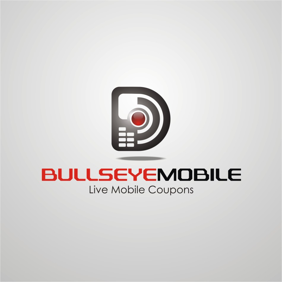 Logo Design by b49us - Entry No. 51 in the Logo Design Contest Bullseye Mobile.