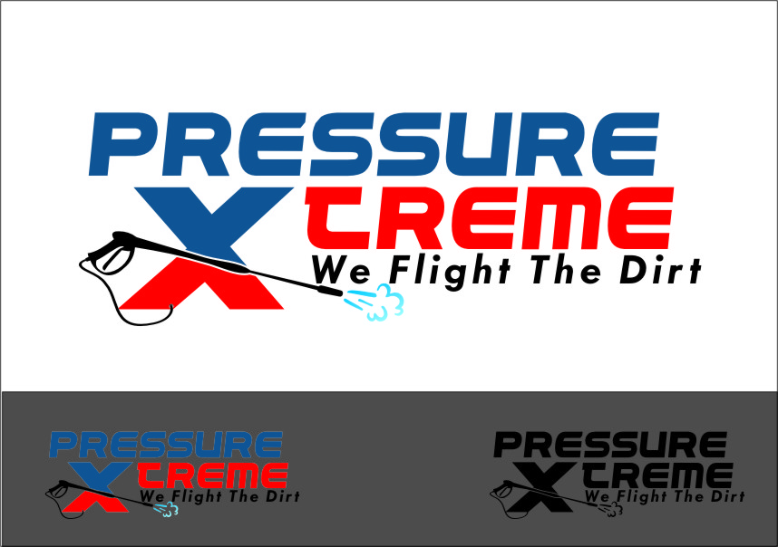 Logo Design by Ngepet_art - Entry No. 95 in the Logo Design Contest New Logo Design for PRESSUREXTREME.