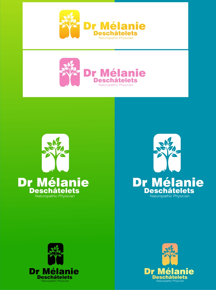 Logo Design by Private User - Entry No. 14 in the Logo Design Contest Artistic Logo Design for Dr Mélanie DesChâtelets.