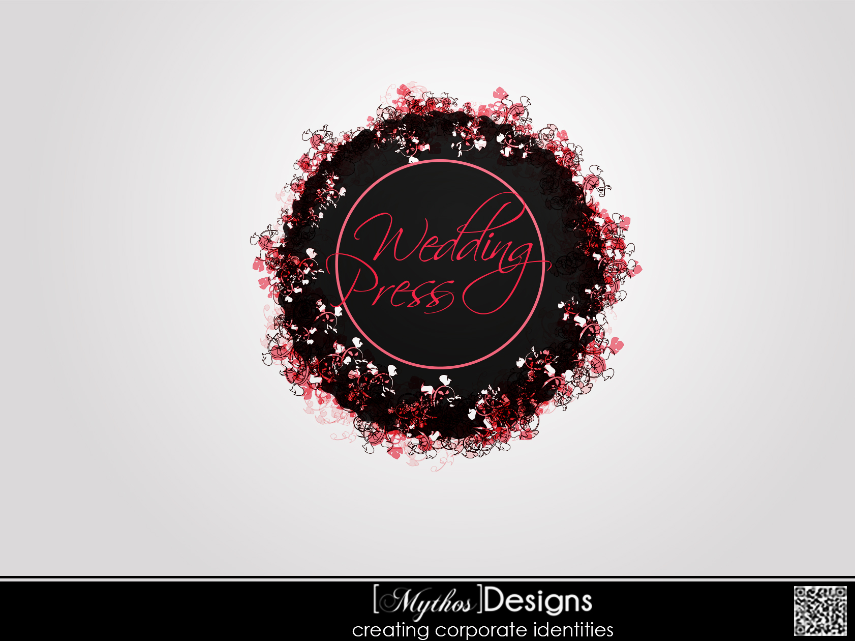 Logo Design by Mythos Designs - Entry No. 33 in the Logo Design Contest Wedding Writes Logo Design.