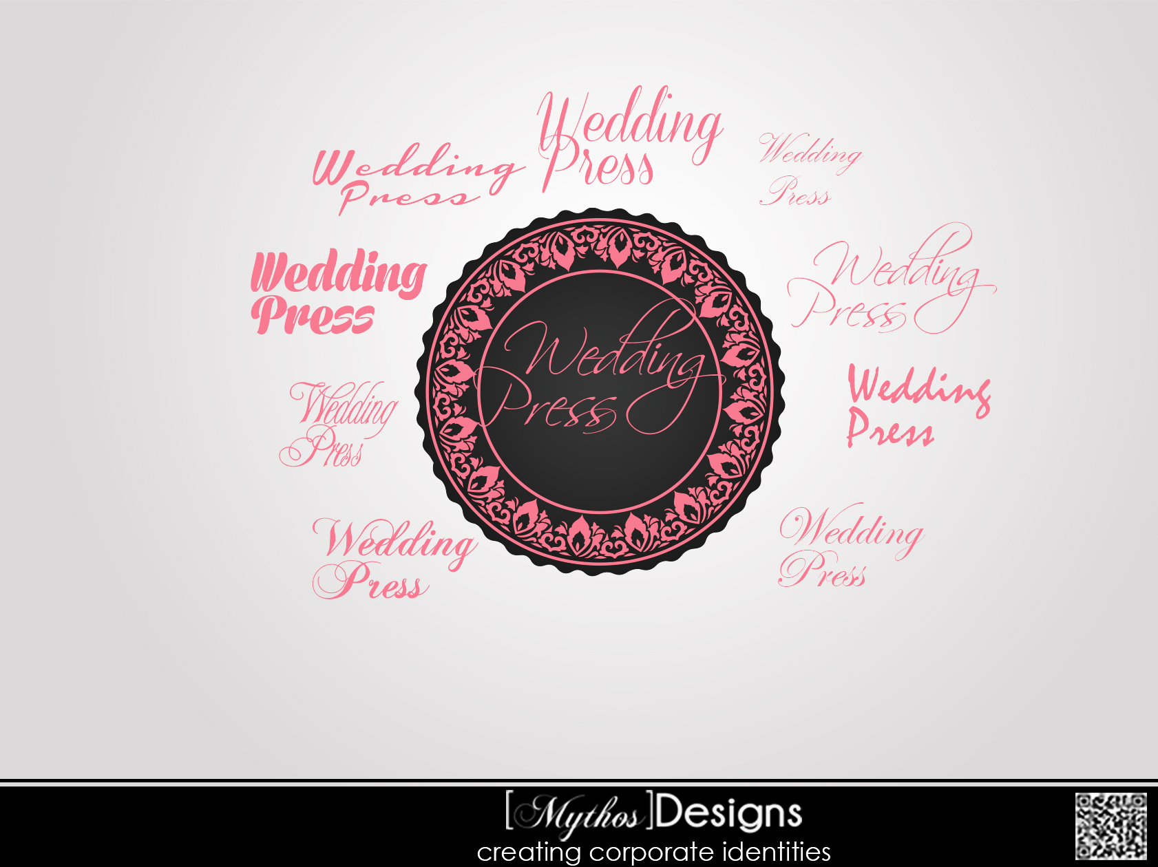 Logo Design by Mythos Designs - Entry No. 34 in the Logo Design Contest Wedding Writes Logo Design.