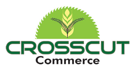 Logo Design by Mohamed Sheikh - Entry No. 80 in the Logo Design Contest New Logo Design for CrossCut Commerce.
