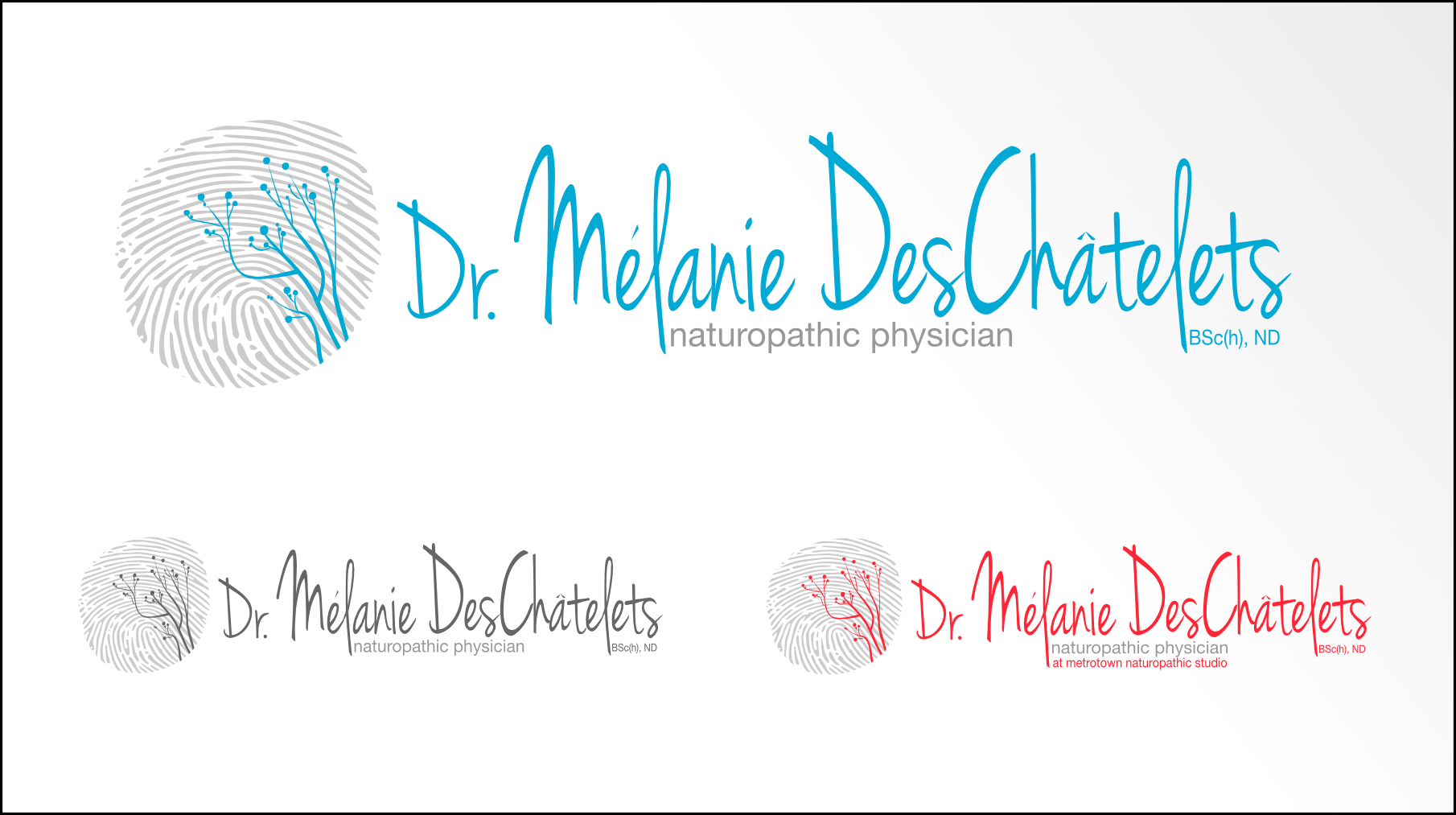Logo Design by Andrew Bertram - Entry No. 17 in the Logo Design Contest Artistic Logo Design for Dr Mélanie DesChâtelets.