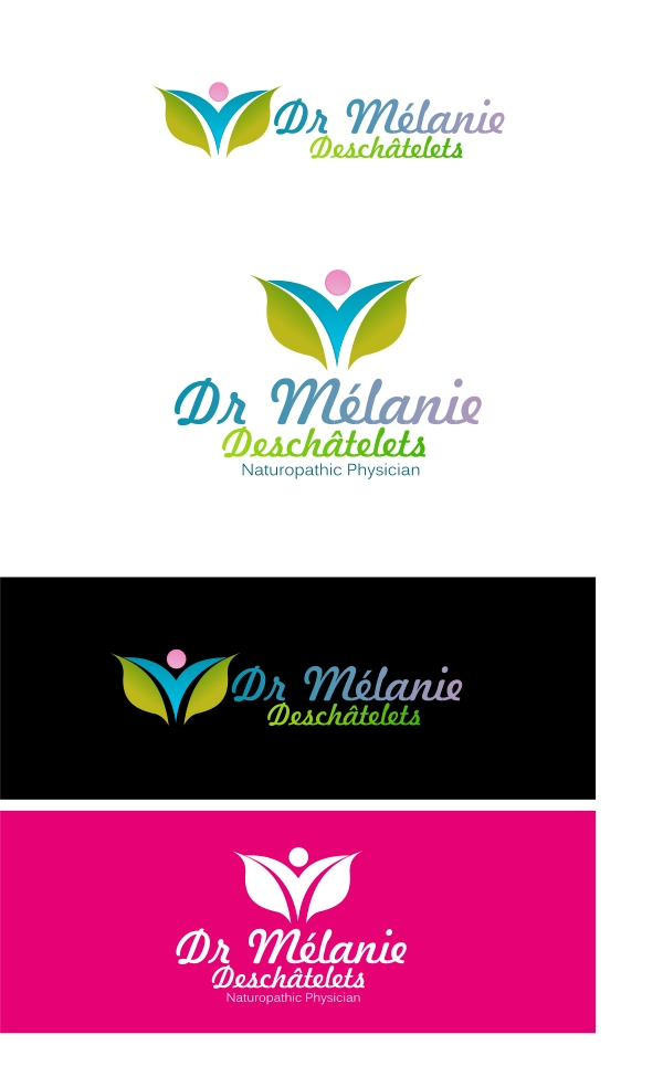 Logo Design by Private User - Entry No. 18 in the Logo Design Contest Artistic Logo Design for Dr Mélanie DesChâtelets.