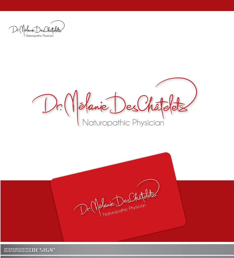 Logo Design by kowreck - Entry No. 19 in the Logo Design Contest Artistic Logo Design for Dr Mélanie DesChâtelets.