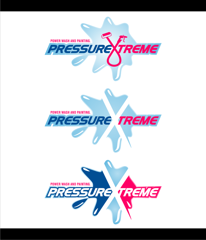 Logo Design by graphicleaf - Entry No. 100 in the Logo Design Contest New Logo Design for PRESSUREXTREME.