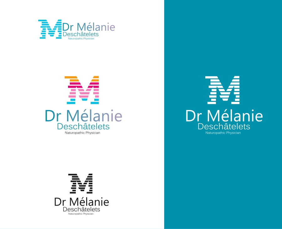 Logo Design by Private User - Entry No. 21 in the Logo Design Contest Artistic Logo Design for Dr Mélanie DesChâtelets.