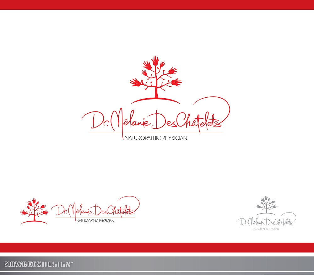 Logo Design by kowreck - Entry No. 22 in the Logo Design Contest Artistic Logo Design for Dr Mélanie DesChâtelets.