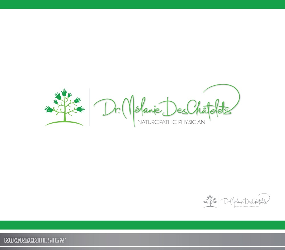 Logo Design by kowreck - Entry No. 23 in the Logo Design Contest Artistic Logo Design for Dr Mélanie DesChâtelets.