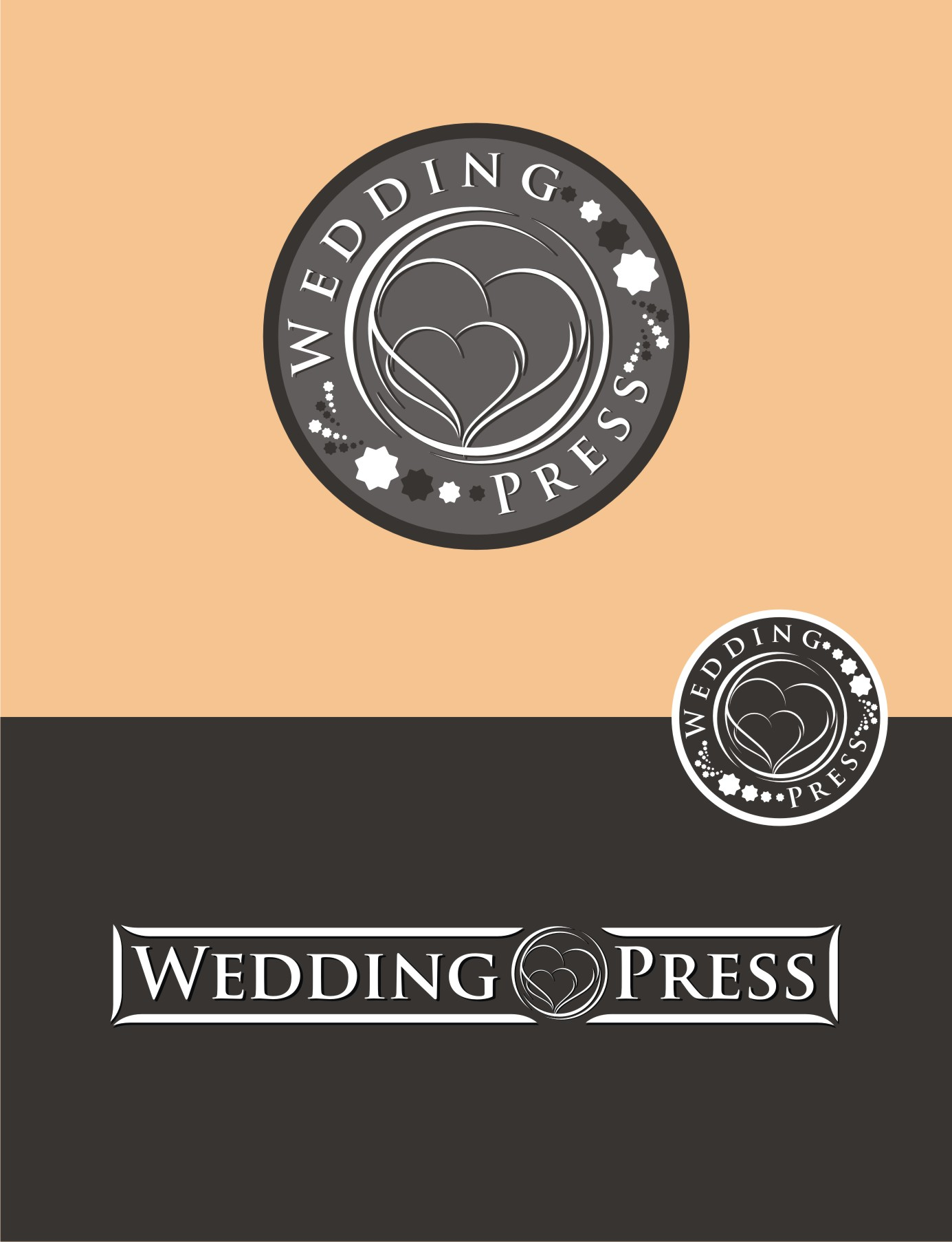 Logo Design by Private User - Entry No. 36 in the Logo Design Contest Wedding Writes Logo Design.