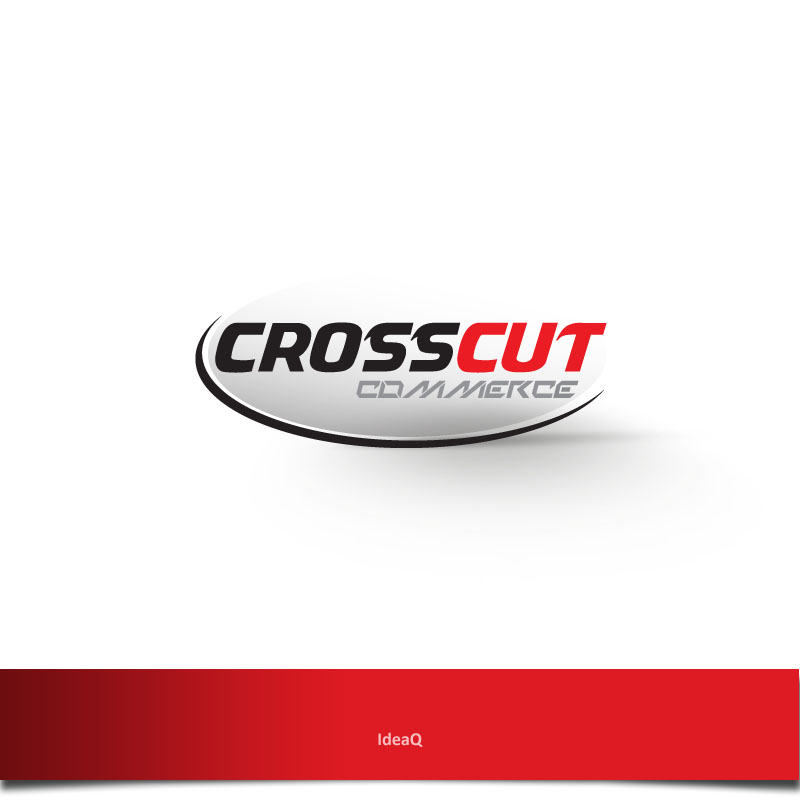 Logo Design by Private User - Entry No. 85 in the Logo Design Contest New Logo Design for CrossCut Commerce.