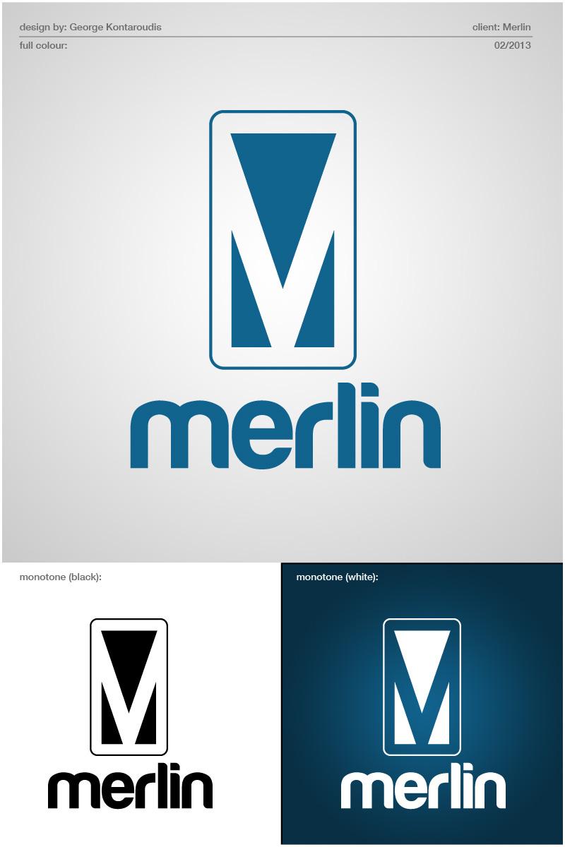 Logo Design by gkonta - Entry No. 110 in the Logo Design Contest Imaginative Logo Design for Merlin.