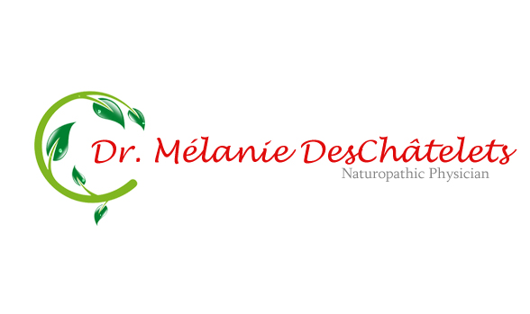 Logo Design by Crystal Desizns - Entry No. 26 in the Logo Design Contest Artistic Logo Design for Dr Mélanie DesChâtelets.