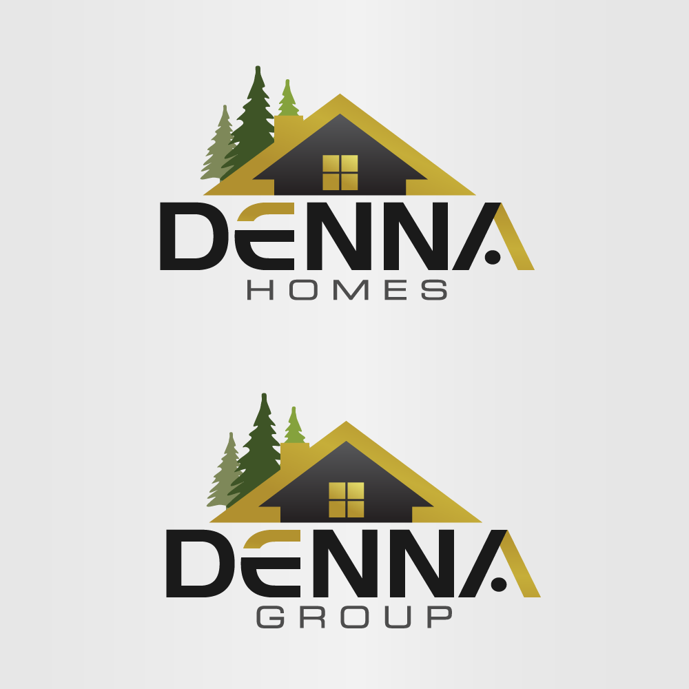 Logo Design by rockin - Entry No. 361 in the Logo Design Contest Denna Group Logo Design.