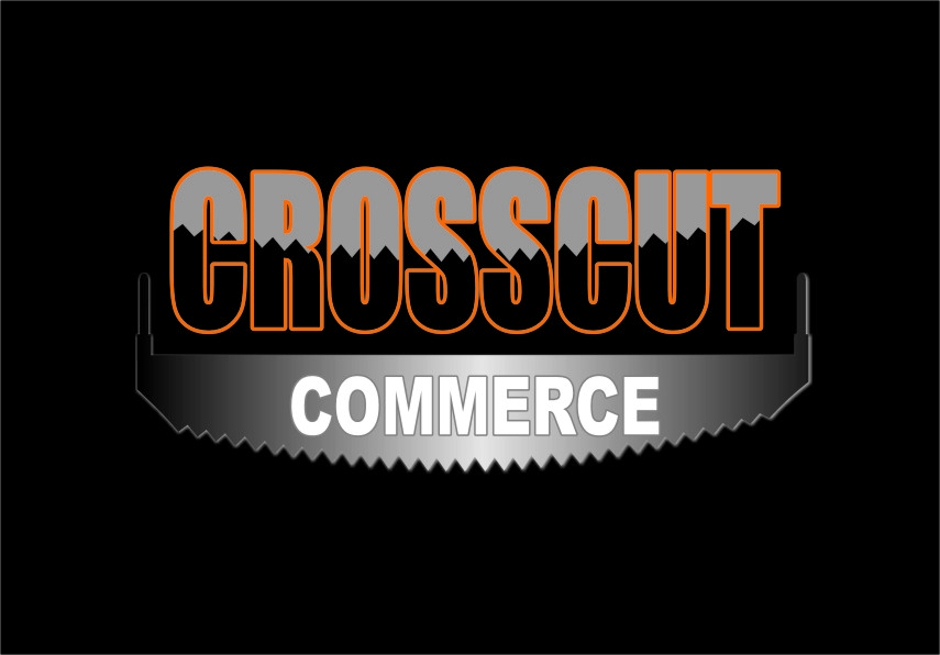Logo Design by RasYa Muhammad Athaya - Entry No. 86 in the Logo Design Contest New Logo Design for CrossCut Commerce.