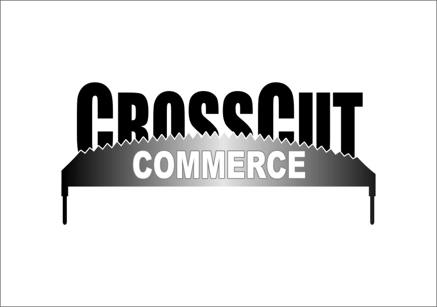 Logo Design by Ngepet_art - Entry No. 87 in the Logo Design Contest New Logo Design for CrossCut Commerce.