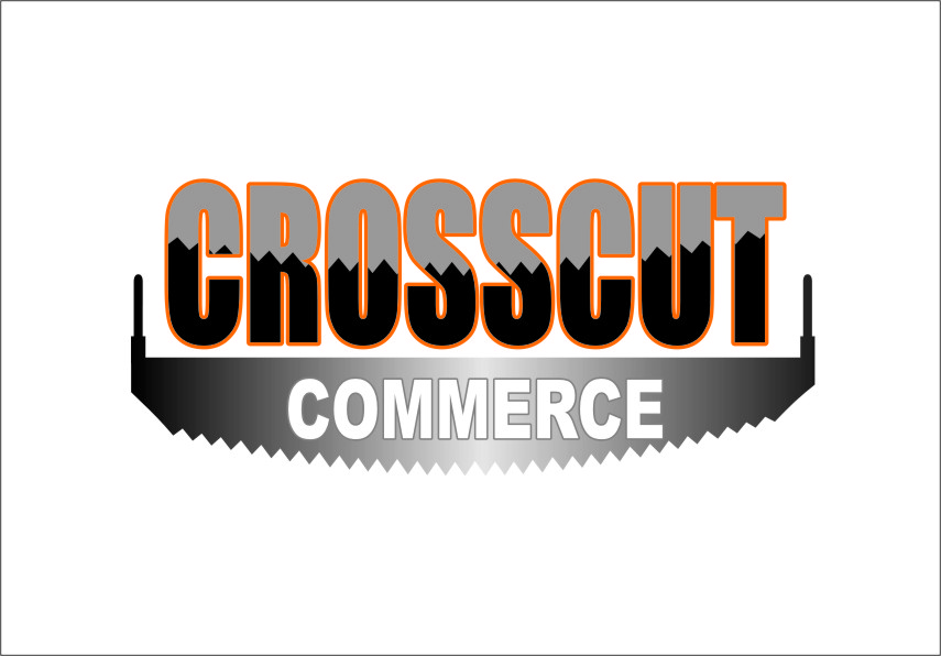 Logo Design by RasYa Muhammad Athaya - Entry No. 88 in the Logo Design Contest New Logo Design for CrossCut Commerce.